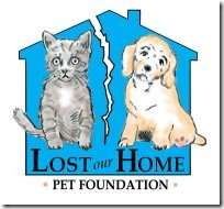 Lost Our Home Pet Foundation Logo