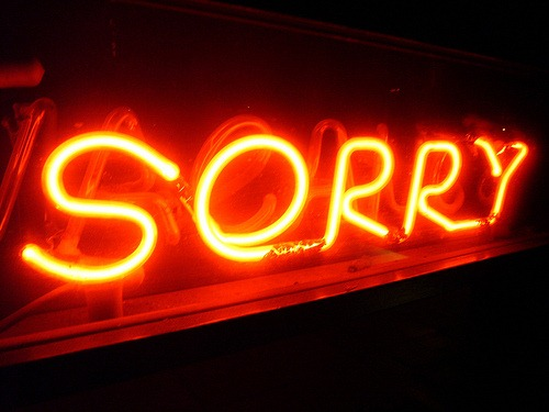 Maybe Love Means Not Ever Having To Say You Re Sorry But