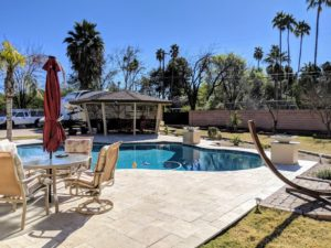 1617 E Brown Road pool area